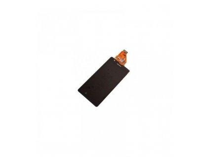 LCD displej a dotyková plocha Sony Xperia ZR čierna farba