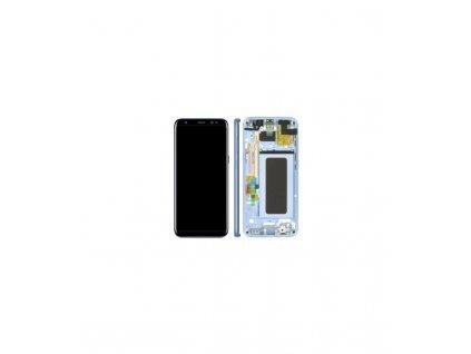 LCD displej Samsung S8 Plus G955F a dotyk s rámom modrý
