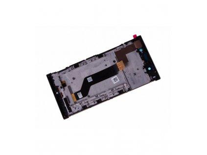 LCD displej a dotykove sklo s rámom Sony Xperia XA1 Ultra G3221 čierny