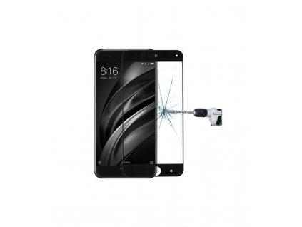 0.33mm 9H Ochranné tvrdené sklo Xiaomi Mi6 čierna farba