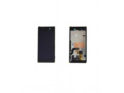 LCD Displej a dotyková plocha s rámom Sony Xperia M5 E5603 čierna