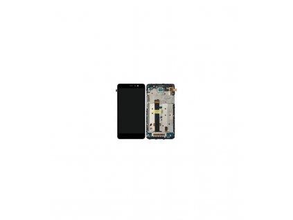 LCD displej a dotyková plocha s rámom Xiaomi Redmi Note 3 (147x73mm) čierna farba