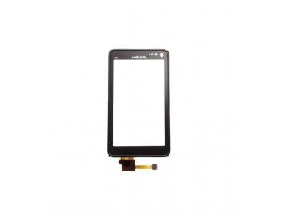 Dotyková plocha s rámom Nokia N8 čierna farba