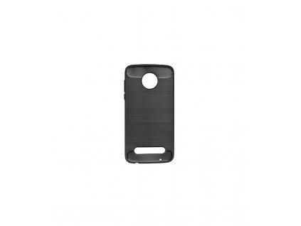 Puzdro Motorola Moto Z2 Play karbonová textúra čierne
