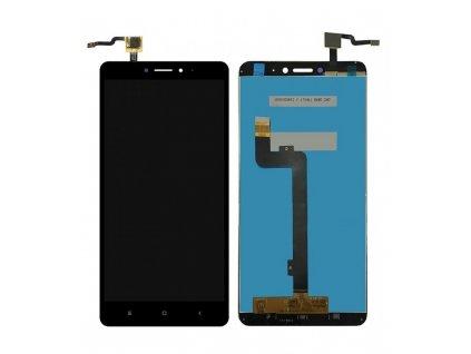 LCD Displej + Dotykové sklo Xiaomi Mi Max 2 Čierna farba
