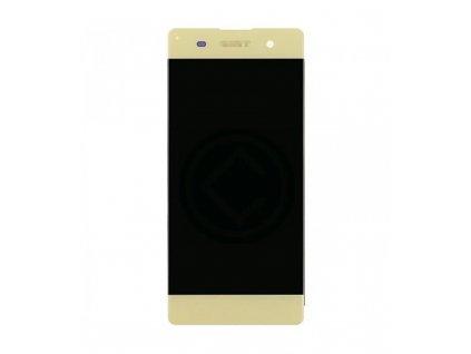 LCD Displej + Dotykové sklo Sony Xperia XA1 zlatá farba