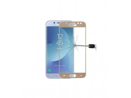 0.26mm 9H 2.5D Ochranné tvrdené sklo Samsung Galaxy J5 2017 J530 zlatá farba
