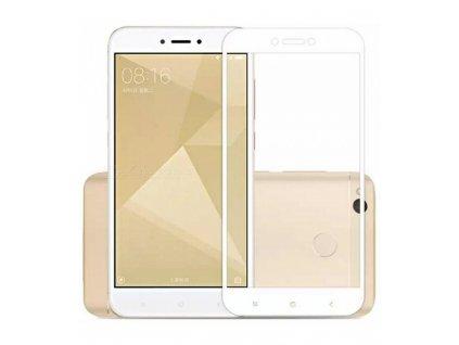 2.5D 9H  0.26mm ochranné tvrdené sklo Xiaomi Redmi Note 4 biela farba