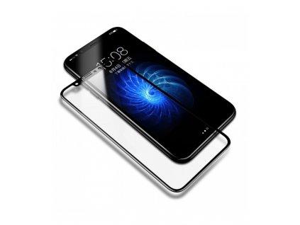 0,23mm Ochranné tvrdené sklo Baseus 9H iPhone X/ iPhone XS čierna farba