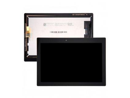 LCD Displej + Dotykové sklo Lenovo Tab 2 A10-30, TB2-X30F, TB2-X30L čierna farba