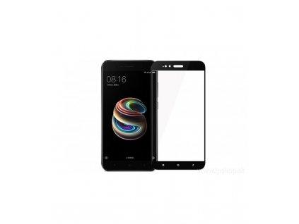 Ochranné tvrdené sklo Xiaomi Mi A1/ MI 5X 9H čierna farba