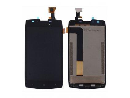 LCD Displej + Dotykové sklo Blackview BV7000 čierna farba