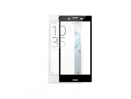 2.5D 0.25mm Ochranné tvrdené sklo Sony Xperia XZ F8332 čierna farba