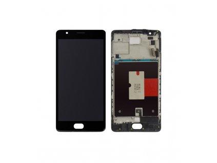 LCD displej a dotykové sklo ONE Plus 3/ 3T čierny