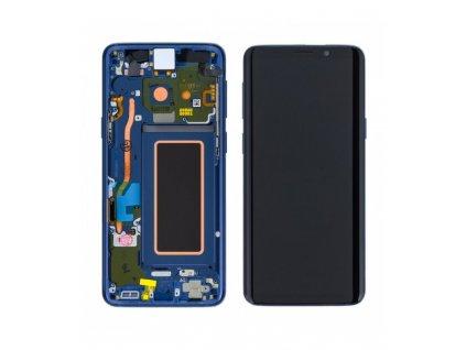 LCD displej a dotyková plocha Samsung S9 G960F modrý