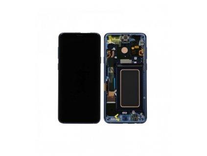 LCD displej a dotyková plocha Samsung S9 Plus G965F modrý
