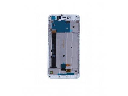 LCD displej a dotyková plocha s rámom Xiaomi Redmi  Note 5A ORI biela farba