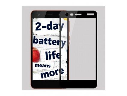 9H 0,33mm 2.5D Ochranné tvrdené sklo Nokia 2 čierne