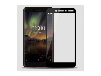 9H 0,33mm 2.5D Ochranné tvrdené sklo Nokia 6.1 čierne