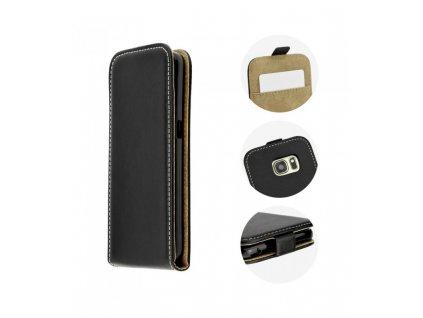 Knižkové púzdro na Samsung Galaxy Xcover 4 čierne do dola
