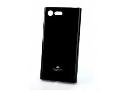 Puzdro Jelly Case Sony Xperia XZ1 compact čierne