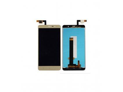 LCD displej a dotykove sklo Xiaomi Redmi Note 3 SE / Redmi Note 3 Pro (150mm) zlatý