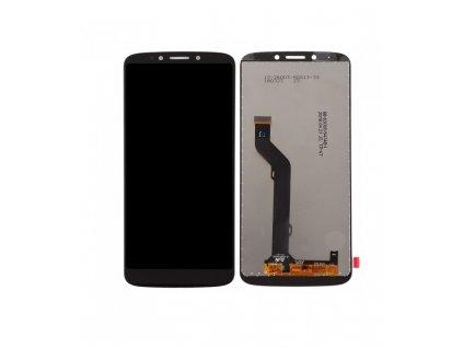 LCD Displej + Dotykové sklo Motorola Moto E5 Plus XT1924 ORI Čierna farba