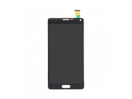 LCD Displej s dotykovou plochou OEM Samsung Galaxy Note 4 N910F sivá farba