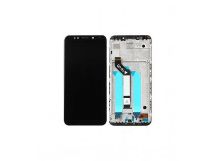 LCD Displej + Dotykové sklo + Rám Xiaomi Redmi 5 Plus MEG7 čierny