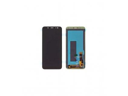 LCD displej a dotykova plocha Samsung Galaxy J6 2018 J600 čierna farba