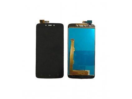 LCD Displej + Dotykové sklo Lenovo Moto C Plus čierna farba