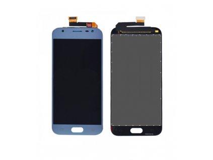 LCD displej a dotykova plocha Samsung Galaxy J3 2017 J330 OEM strieborno - modrá farba