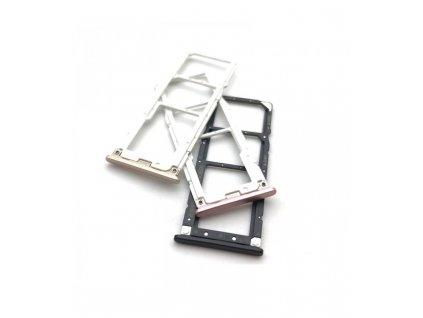 Držiak SIM karty Xiaomi Mi A2 Lite / Redmi 6 pro čierna farba