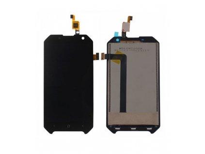 LCD Displej + Dotykové sklo Blackview BV6000 Čierna farba