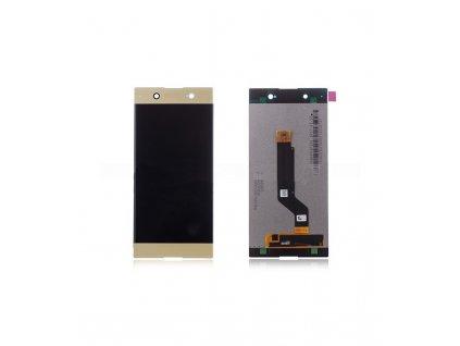 LCD displej a dotykove sklo Sony Xperia XA1 Ultra G3221 zlatý