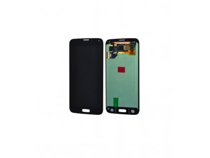 LCD displej a dotyková plocha Samsung Galaxy S5 G900 OEM čierna farba