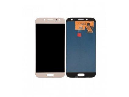 LCD Displej + Dotykové sklo Samsung Galaxy J5 2017 OEM zlatá farba