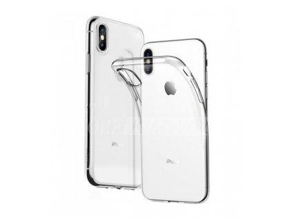 Puzdro iPhone XS max 0,5mm Priesvitné