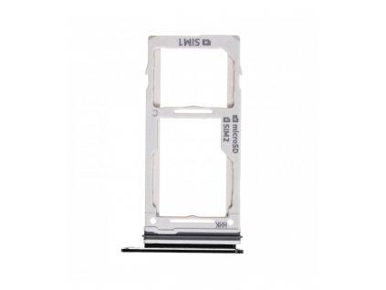Držiak SIM karty Samsung Galaxy Note 9 Dual verzia čierna farba