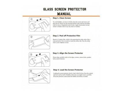 2.5D 9H 0.26mm ochranné tvrdené sklo OnePlus 6T