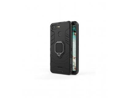 Ochranné puzdro Xiaomi Redmi 6 / 6A Armor čierne so stojanom