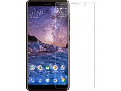 9H Ochranné tvrdené sklo Nokia 7 Plus transparentné