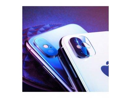 0,2mm Bazeus Ochranné tvrdené sklo na zadnú kameru 2ks iPhone X / iPhone XS / iPhone XS Max