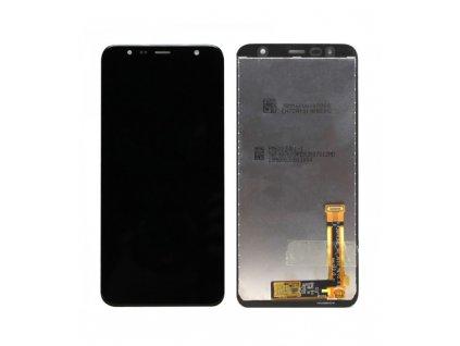 LCD displej a dotykové sklo Samsung Galaxy J6 Plus J610, J4 Plus J415 OEM čierna farba ORI