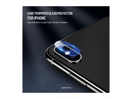 0,2mm ROCK Ochranné tvrdené sklo na zadnú kameru 2ks iPhone X / iPhone XS / iPhone XS Max