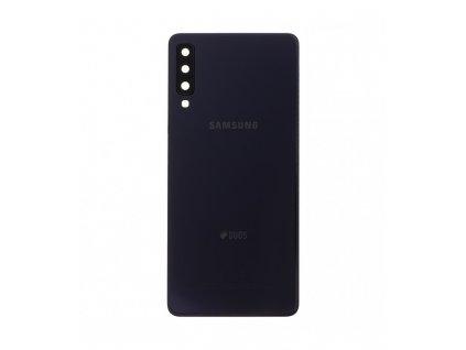 Zadný kryt Samsung Galaxy A7 (2018) A750F čierna farba Originál