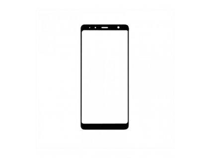 Dotykové sklo Samsung Galaxy A7 2018 A750 čierna farba