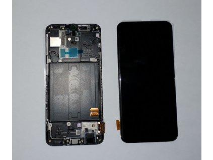 LCD displej a dotyková plocha Samsung Galaxy A40 A405 čierna farba