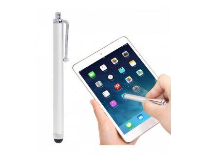 dotykove pero stylus iphone 5 5s 5c 4 4s ipad air ipad 4 ipad mini strieborna farba