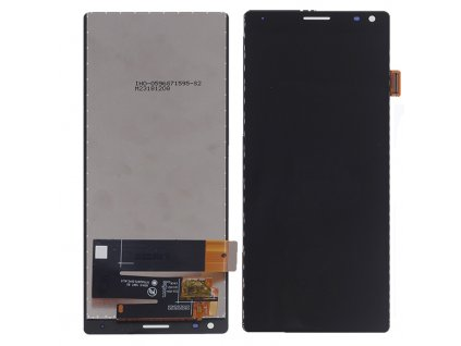 LCD Displej + Dotykové sklo Sony Xperia 10/XA3 čierna farba
